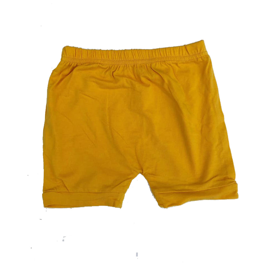 Basic Yellow Shorts