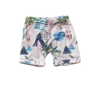 Graphic Vacation Shorts