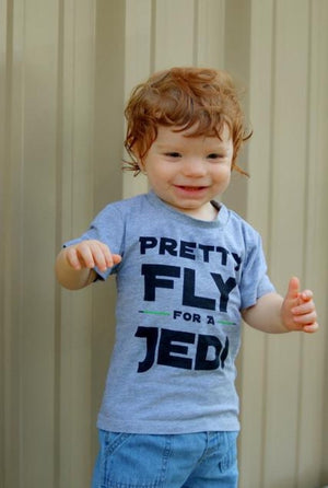 Pretty Fly for a Jedi tee