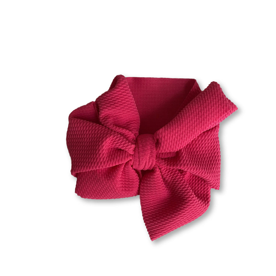 Hot Pink Textured Headwrap