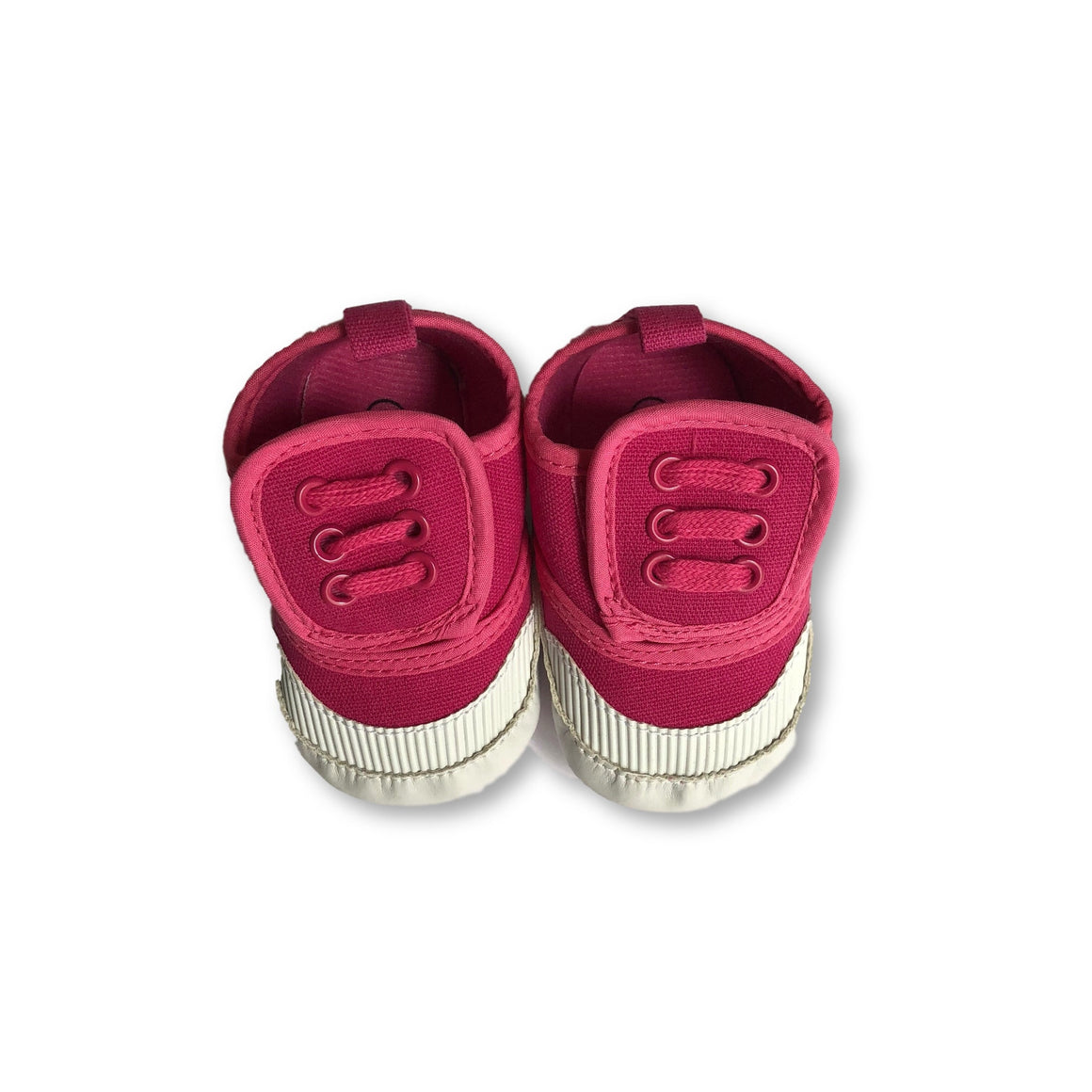 Hot Pink Soft Sole Sneakers