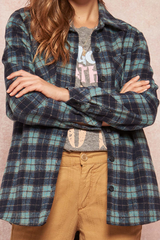 Pike Place Sherpa-Lined Plaid Shirt Jacket