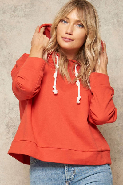 Knot Today Cropped Hoodie Sweatshirt