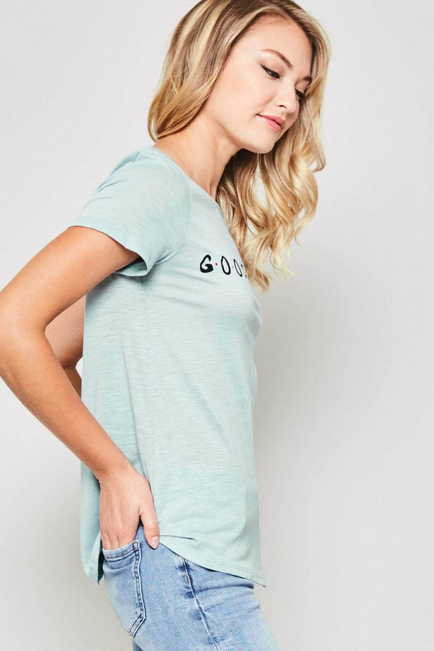 Good Vibes Retro 90s Graphic Tee - ShopPromesa