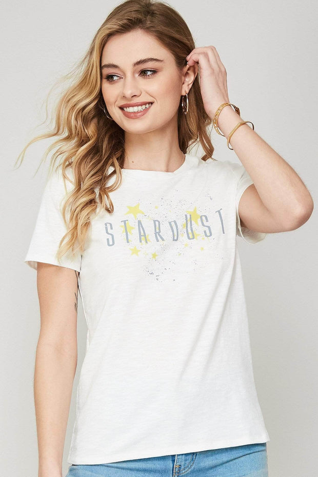 Stardust Vintage-Print Graphic Tee - ShopPromesa