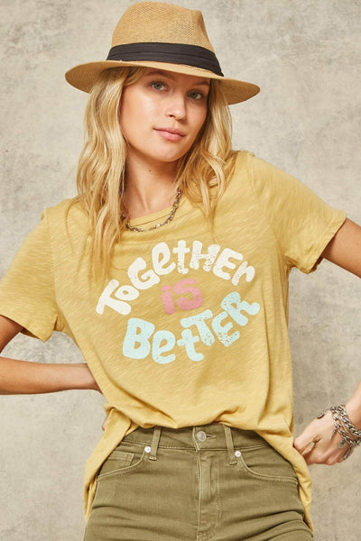 Together Is Better Vintage Graphic Tee - ShopPromesa