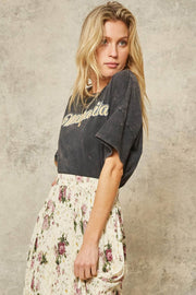 Mamacita Stone-Washed Vintage Graphic Tee - ShopPromesa