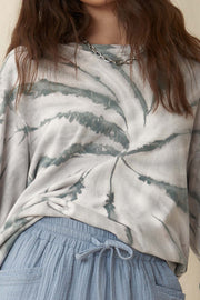 Swirl Power Tie-Dye French Terry Sweatshirt - ShopPromesa
