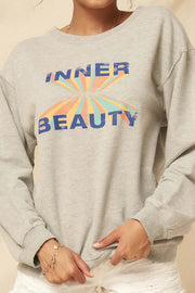 Inner Beauty Vintage Graphic Sweatshirt - ShopPromesa