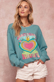 Beautiful Confidence Vintage Graphic Sweatshirt