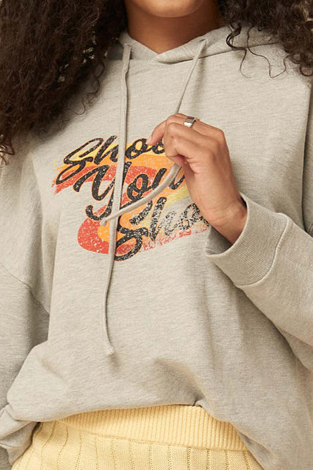 Shoot Your Shot Vintage Graphic Hoodie - ShopPromesa