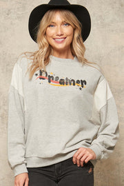 Dreamer Vintage Graphic Sweatshirt - ShopPromesa