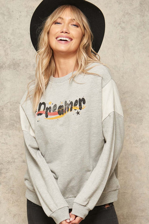 Dreamer Vintage Graphic Sweatshirt