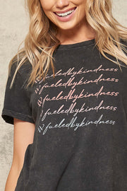 #fueledbykindness Graphic Tee for No Kid Hungry