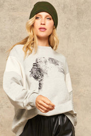 Get Em Tiger Vintage Graphic Sweatshirt - ShopPromesa