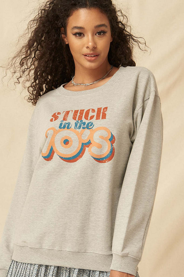 Stuck in the 70s Vintage Graphic Sweatshirt - ShopPromesa