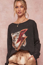 Thunderbolt Tiger Vintage Graphic Sweatshirt - ShopPromesa