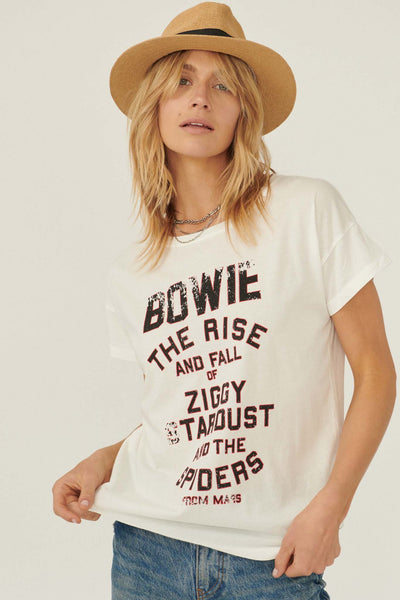 David Bowie Ziggy Stardust Vintage Graphic Tee - ShopPromesa