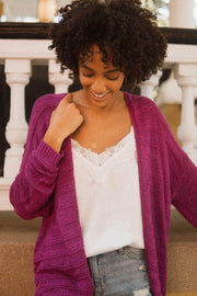Sunday Girl Crochet Stripe Cardigan - ShopPromesa