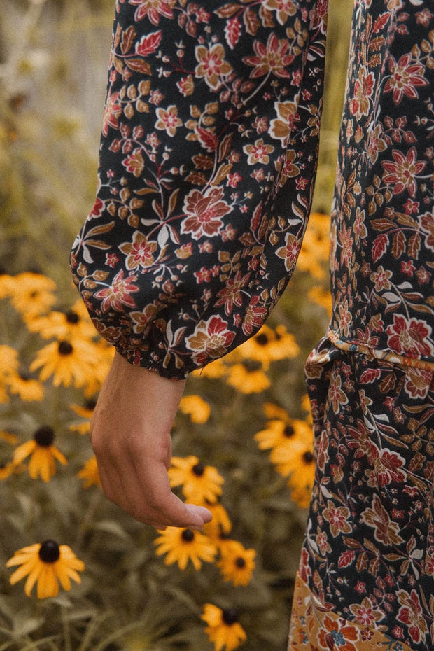 Down in the Valley Floral Prairie Dress - ShopPromesa