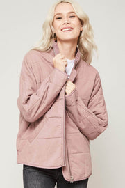 Softest Hour Zip-Up Quilted Jacket - ShopPromesa