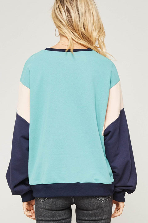 Name of the Game Colorblock Sweatshirt - ShopPromesa