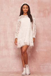 Dollhouse Days Layered Lace Babydoll Dress - ShopPromesa