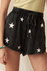 All Star Vintage-Washed Graphic Dolphin Shorts - ShopPromesa