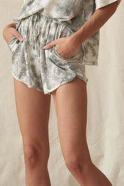 Star Crossed Tie-Dye Pocket Dolphin Shorts - ShopPromesa