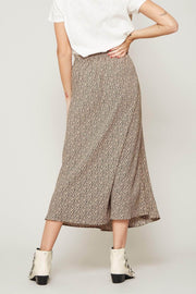 Well Spotted Animal-Print Midi Skirt - ShopPromesa