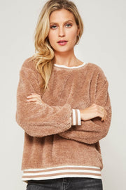 Teddy Bear Picnic Plush Pullover Sweater - ShopPromesa