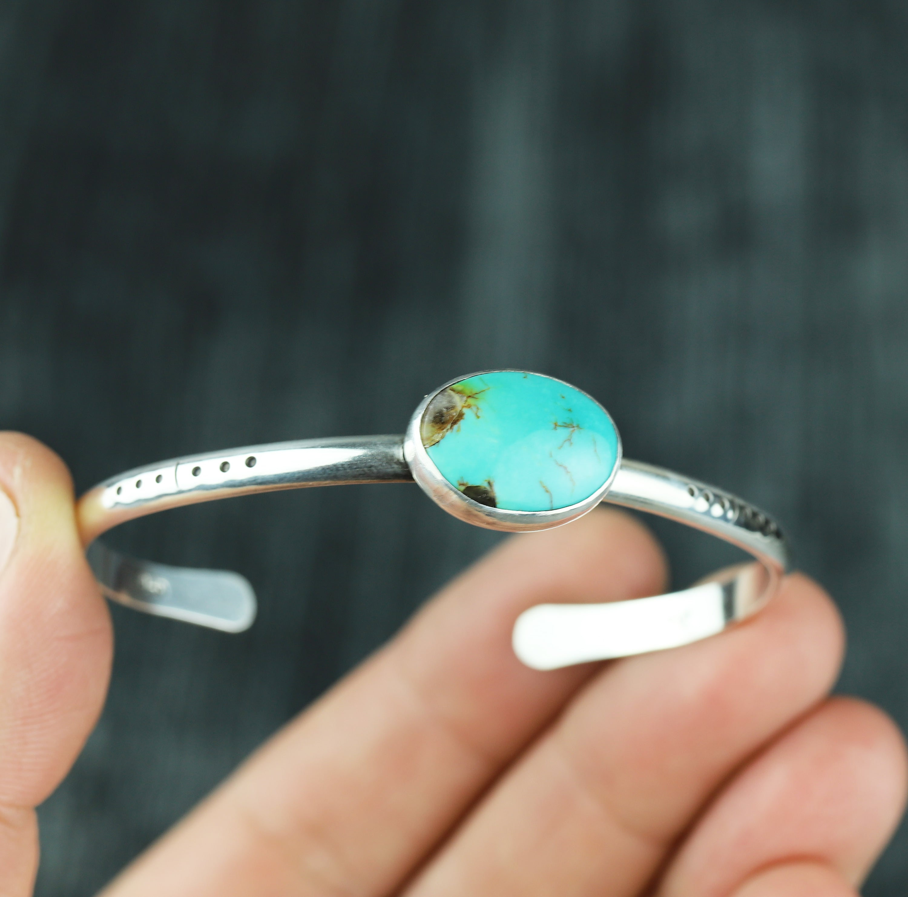 Kingman Turquoise Stacking Cuff #28