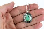 Turquoise Layered Sterling Necklace #10