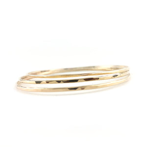 14K Gold Fill Stacking Bangles