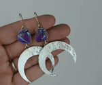 Crescent Moon Earring #9