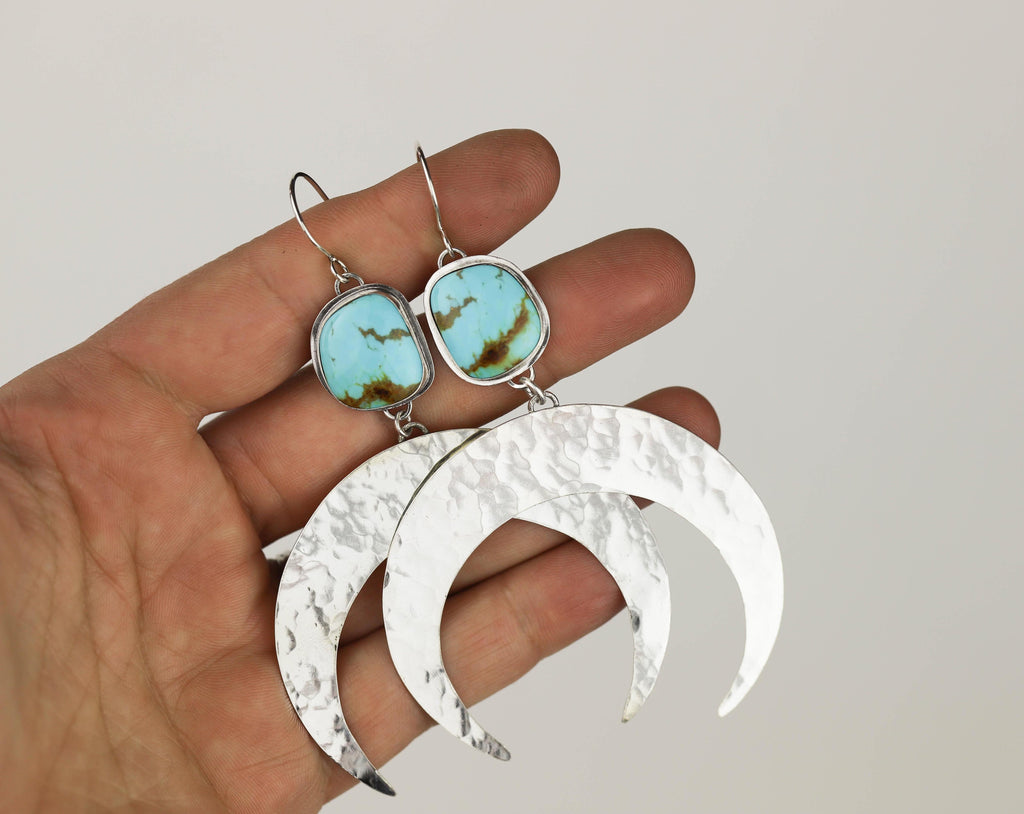 Crescent Moon Earring #7