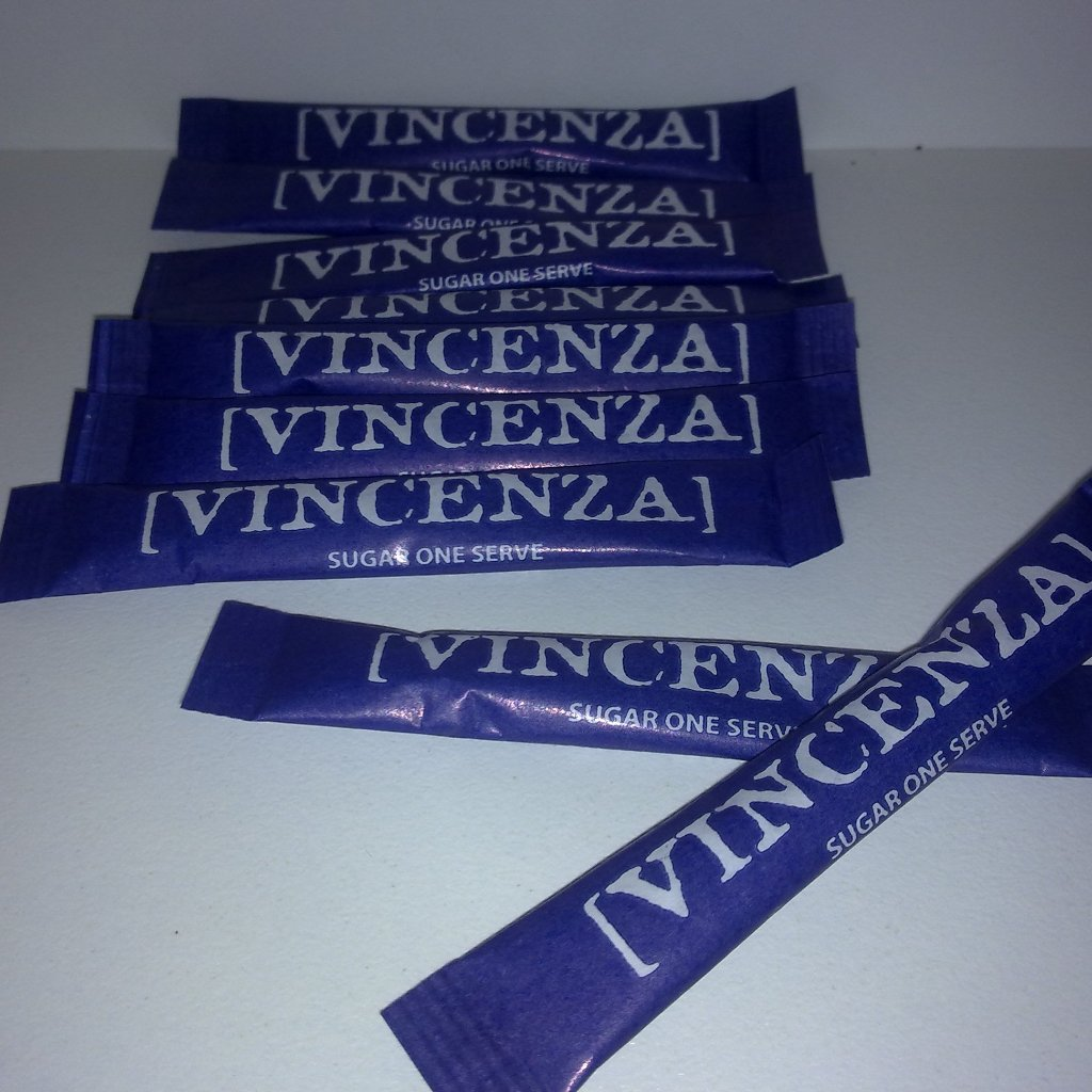 VINCENZA  SUGAR  STICKS  WHITE 2000