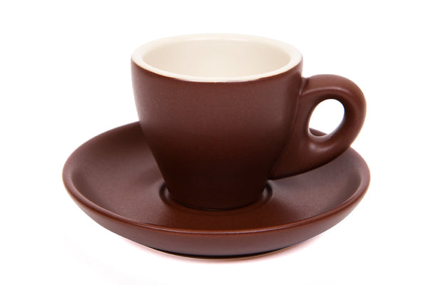 90ml Espresso Cup MATT BROWN