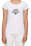 Winterdepressief - Dames T-Shirt