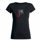 KIS I care about your hair - Dames T-Shirt
