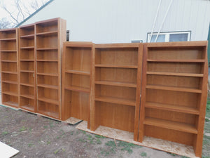 Custom Cherry Bookshelf Storage for Anywhere!
