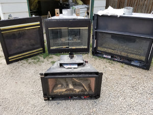 A Couple of Beautiful Gas Insert Fireplaces!