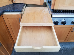 Huge Shaker Birch Kitchen Cabinet Set w/ HIGH-END Features