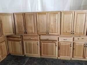 Beautiful Hickory Kitchen