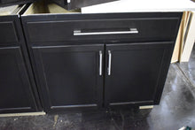 Frameless Shaker Dark Kitchen Cabinet Set w/ Soft-close Dovetailed Drawers and Lazy Susan