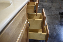 Shaker Maple Vanity w/ Upper Bathroom Cabinets and Dovetailed Drawers