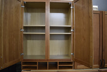 Showroom Cherry Office Set w/ Filing Cabinets and Cubbyhole Shelf