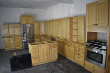 Large Raised Panel Maple Kitchen w/ Oil-finished Copper Knobs, Extra Tall Uppers, and SS Appliances