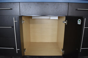 Like-New Showroom Softclose Vanity w/ Dovetailed Drawers, Countertop, & Lift-Up Doors
