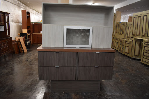 ... Euro Style Soft Close Showroom Cabinet Display W/ Lift Up Doors And  Frameless ...